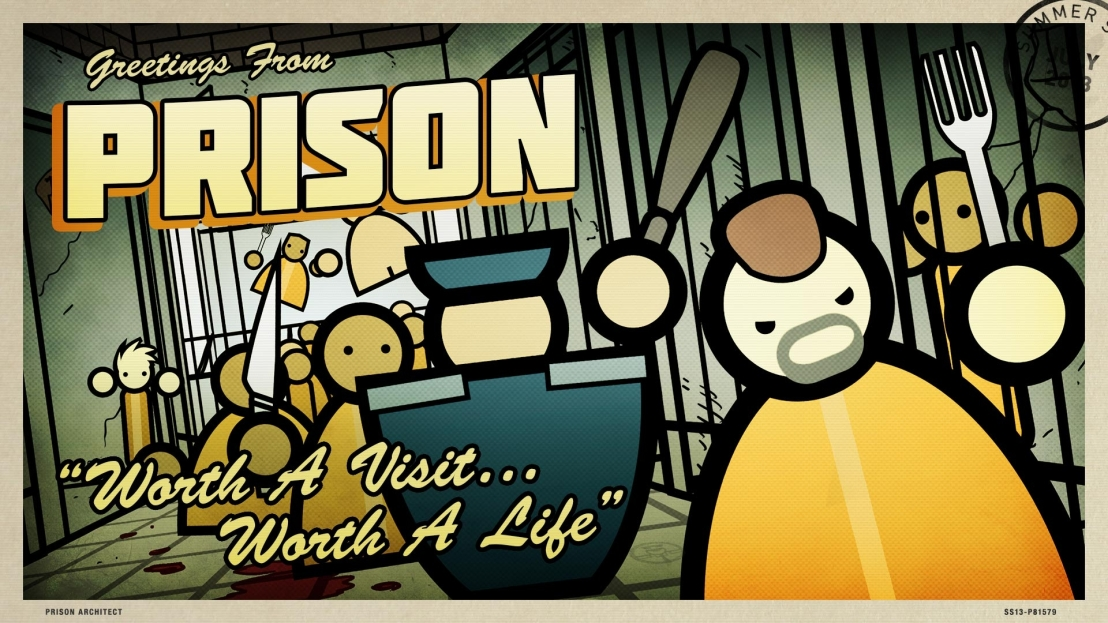 Prison Architect (the game) Breaks Geneva Conventions (the real life laws)