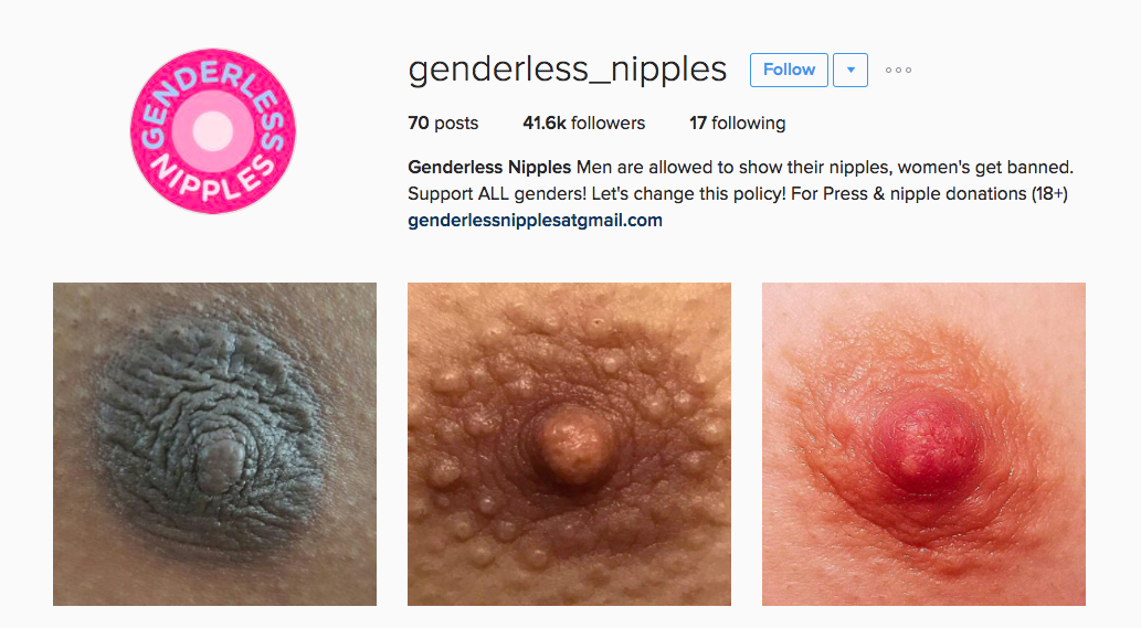 Let's Get Nuts: Genderless Nipple Account Driving Instagram Insane